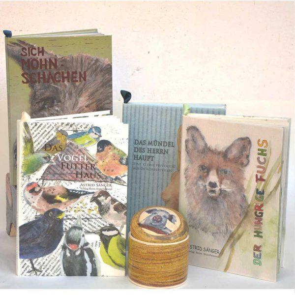vier Bilderbücher