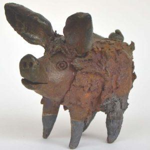 Keramik Schwein (Otakar Sliva)