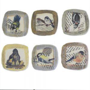 6 Keramikbildchen