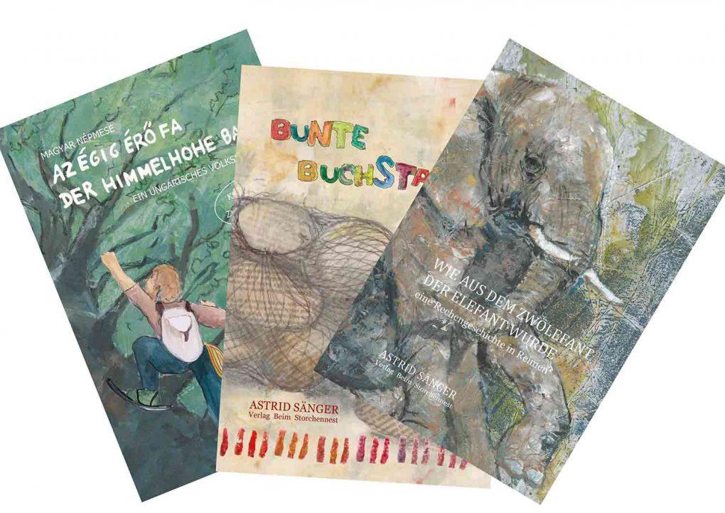 drei Neue im Verlag Beim Storchennest