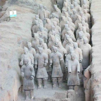 Tonsoldaten von Xian, China